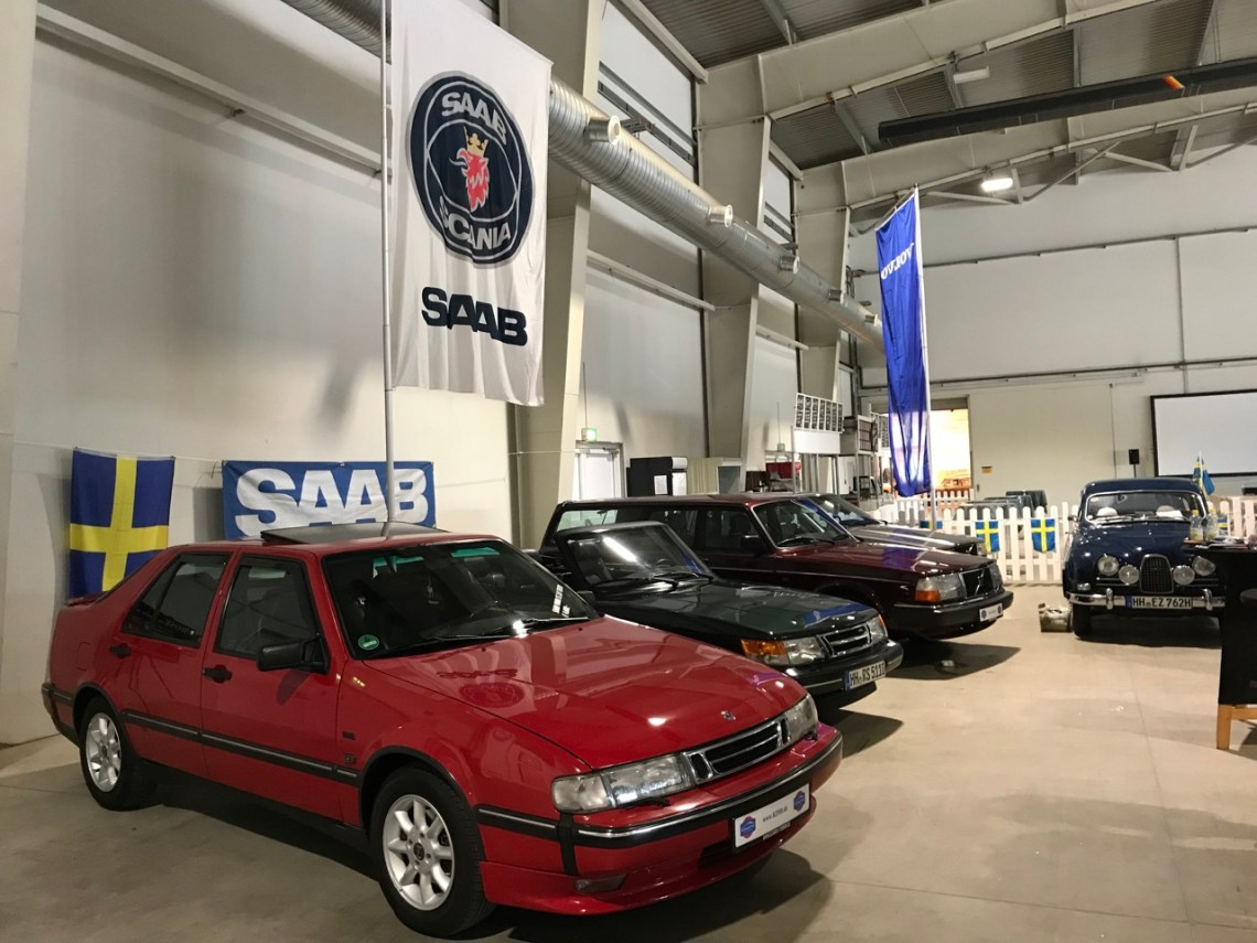 Saab and Volvo 2018 on the classic days