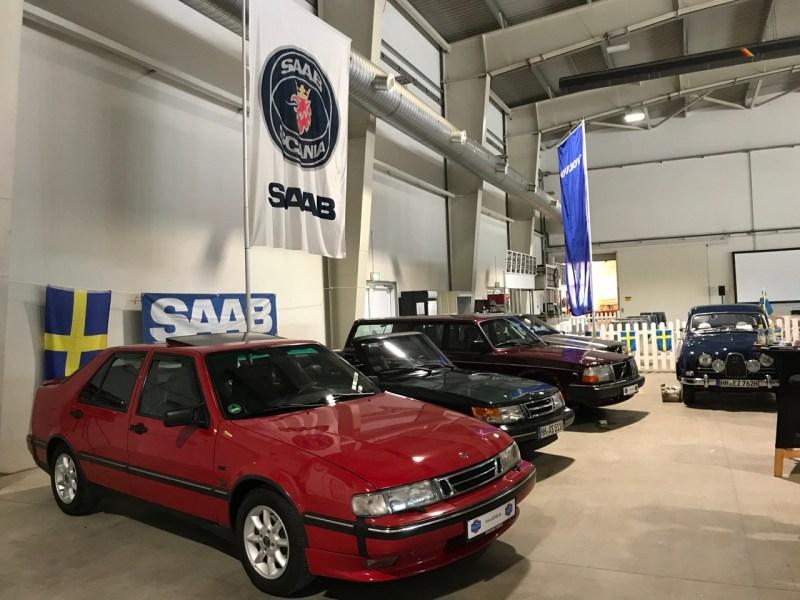 Saab und Volvo 2018 auf den Klassiker Tagen