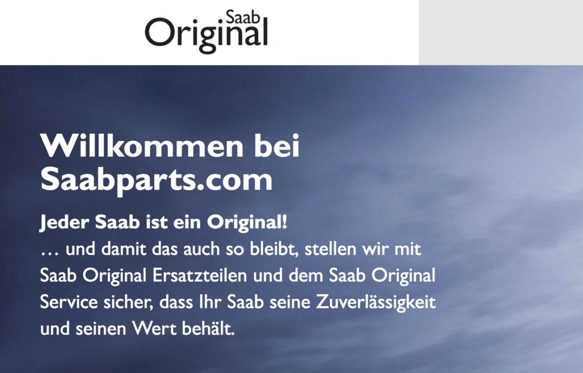 Orio. The home of Saab Original