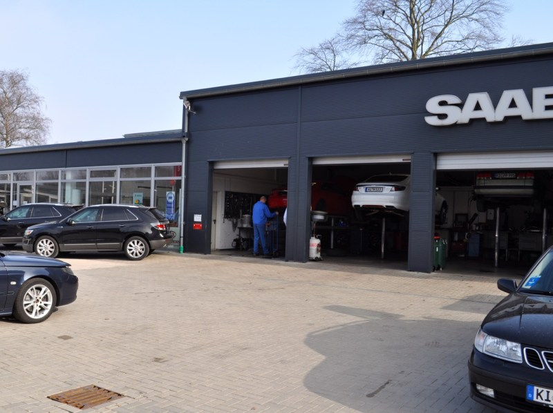 Saab workshops in transition