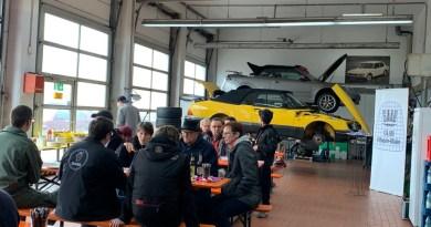 Zwei Tage Autokultur. Saab Szene Frankfurt.