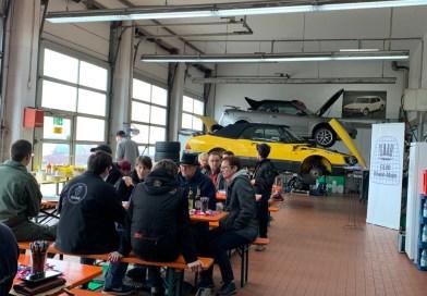 Dois dias de cultura automobilística. Cena Saab Frankfurt.