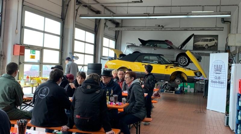 Ainda mais Saab mal vai. Evento no workshop