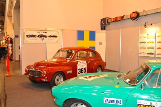 Il Volvo Club mostra la presenza.
