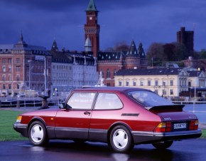 The Saab classic ever: Saab 900, with gaps in the spare parts program