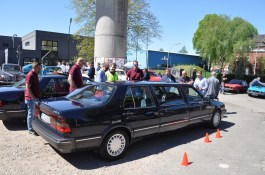 Ex-Saab management limousine 2018 at the oldie tank