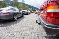 Porsche ontmoet Saab