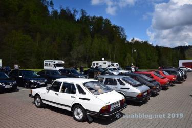Saab Treffen im Harz