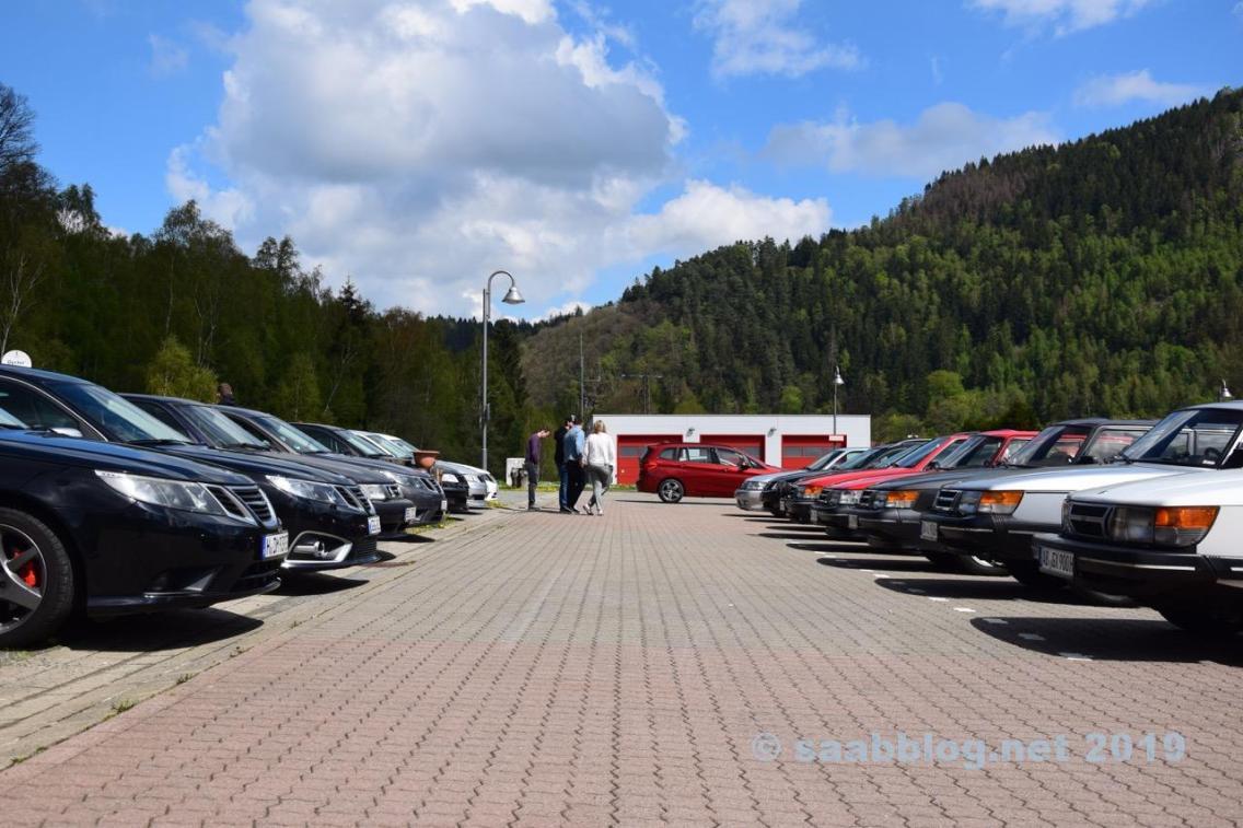 Saisonbeginn mit Saab Parade