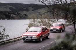 Klassiek van de Göta Älv. Saab 9000 CD en Saab 900.