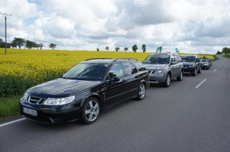 Saia dos amigos Saab, Saxônia e Turíngia