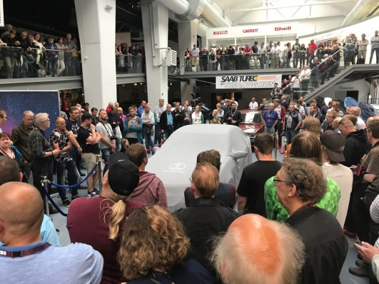 2 jaar later de presentatie van de Turbo-editie in het museum