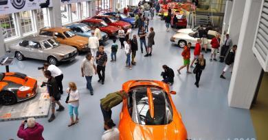 För länge sedan. Spyker 2010 på Saab Museum Trollhättan
