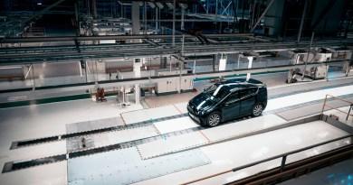 Sono Motors prototyp i den tidigare Saab-fabriken i Trollhättan