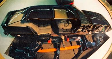 9000 sektionsmodell vid IAA i Frankfurt