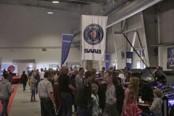 Saab et Volvo attirent la foule