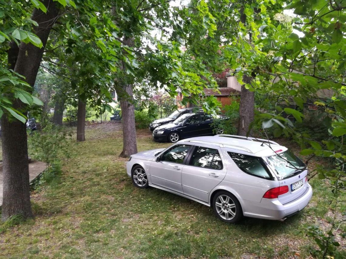 Bijeenkomst van de Saab-vrienden Thüringen