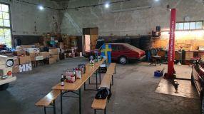 Un sacco di spazio Sala da ballo, sala da ballo, Saab Stammtisch - tutto è possibile qui