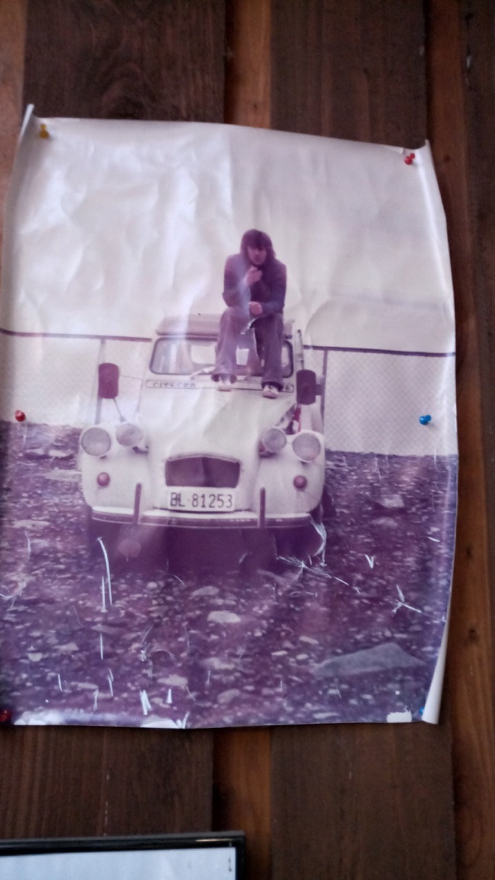 Nordkap 1975 con el Citroen 2CV