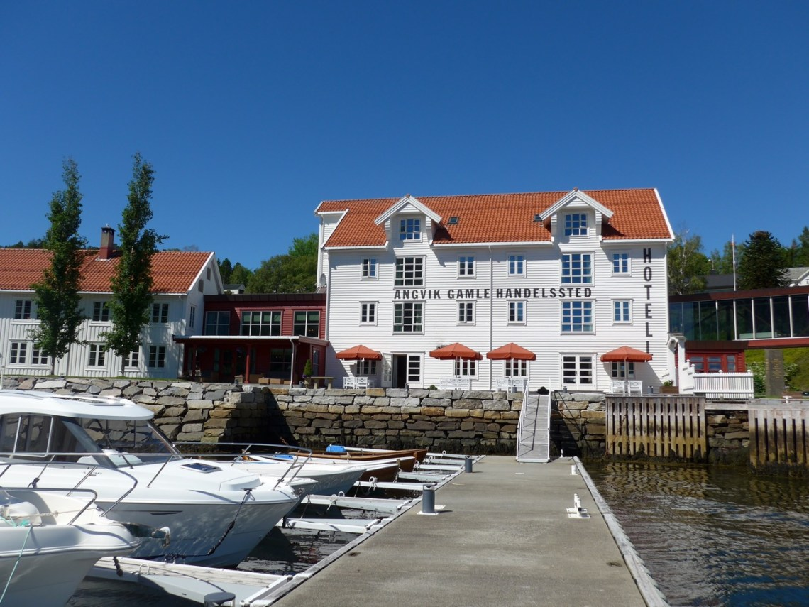Hotel de sonho em Angvik