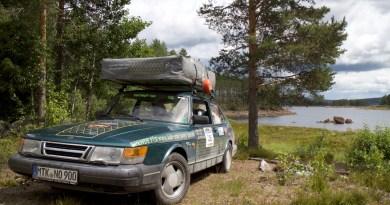 Saab 900 in seiner natürlichen Umgebung