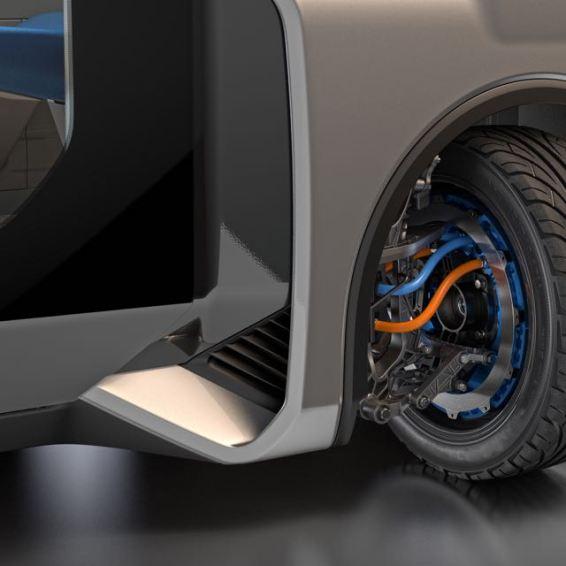 Rotation des roues Protean 360 +