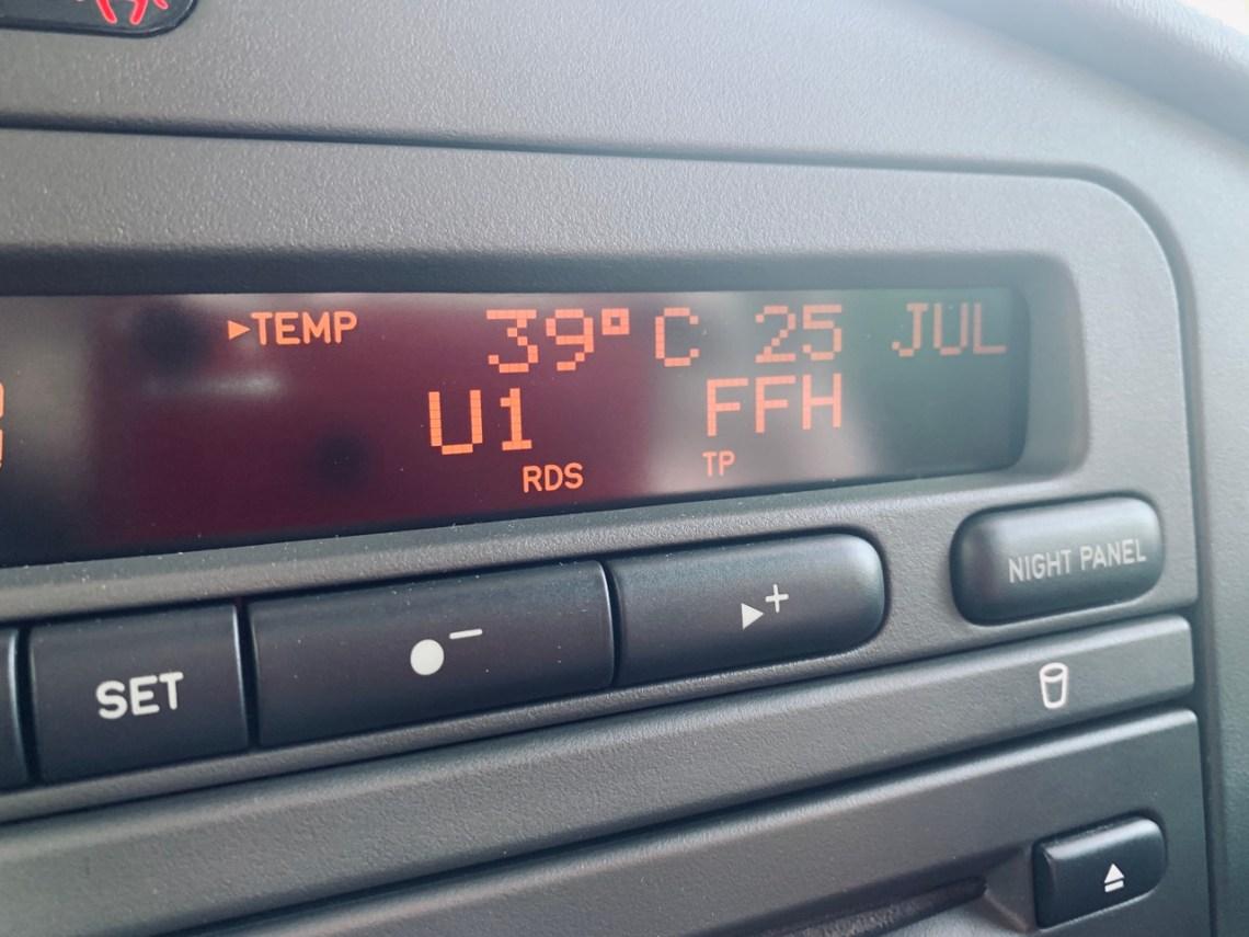 25. Julho 2019. Registro de calor na Alemanha. E você dirigiria um sion?