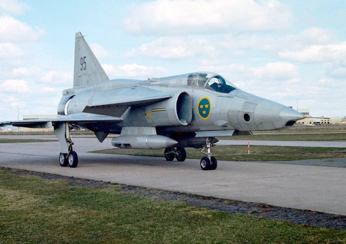 SF 37 Viggen Aufklärer der schwedischen Streitkräfte