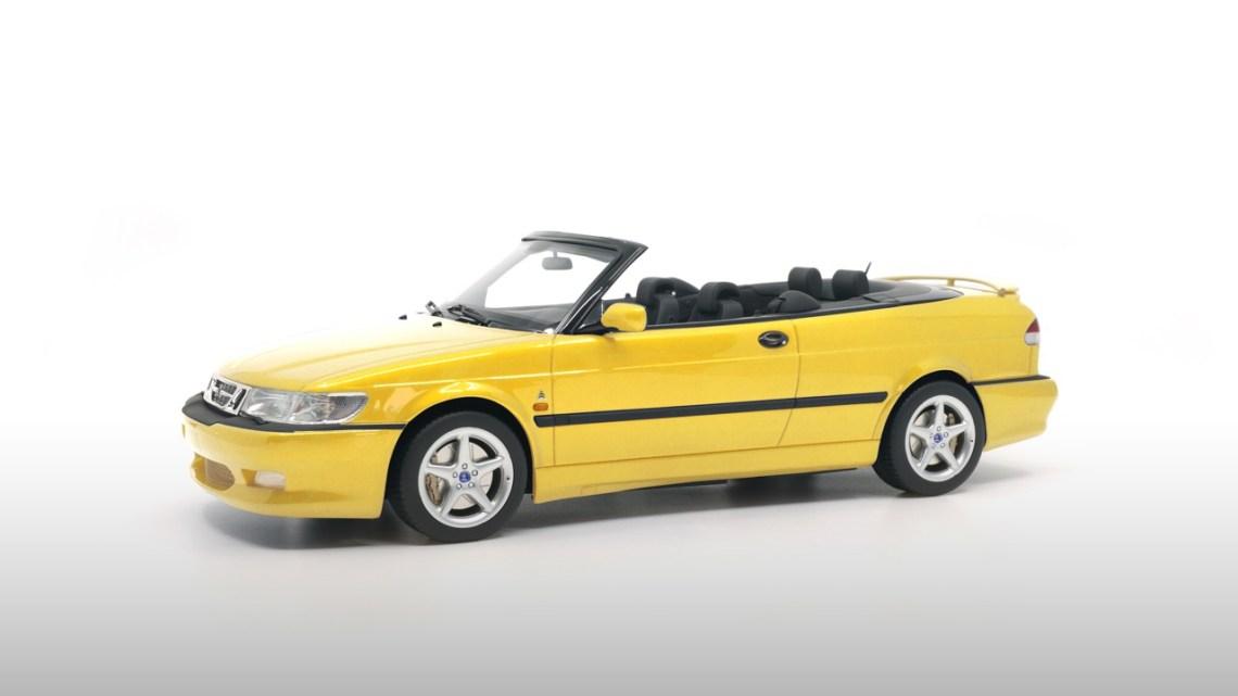 Monte Carlo gelbe Saab Viggen Sonderserie