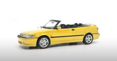 Monte Carlo yellow Saab Viggen special series