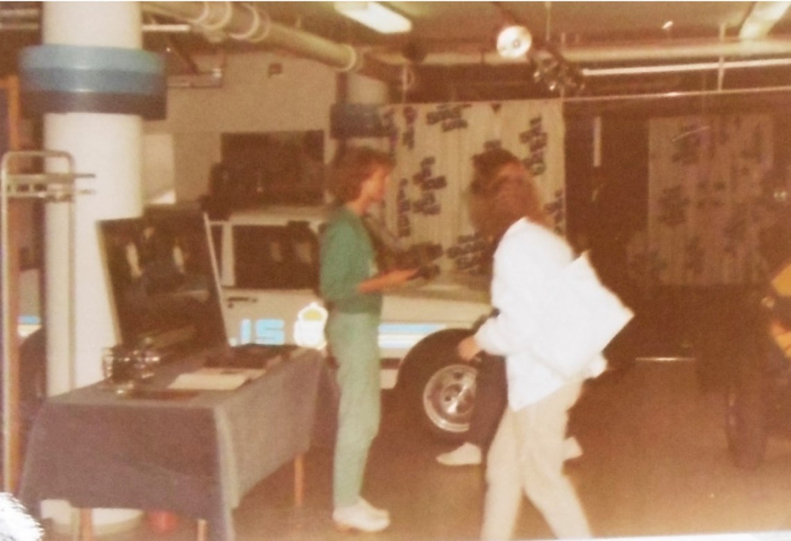 """Historical pictures from the """"old"""" Saab Museum"""