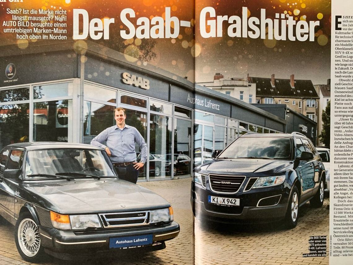 The Grailkeeper in the Autobild