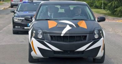 Protótipo do carro elétrico turco na base da Saab