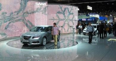IAA 2009. Der letzte Auftritt von Saab in Frankfurt.