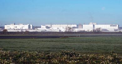Ex Saab factory, today NEVS-Evergrande in Trollhättan