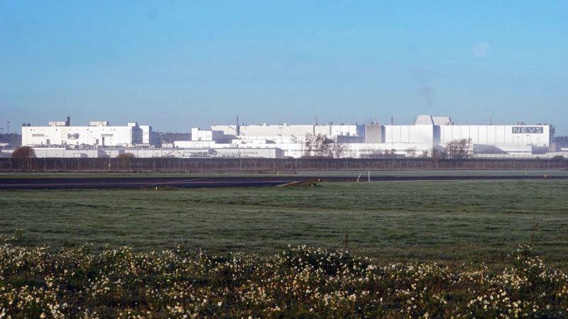 Ex Saab Fabrik, heute NEVS-Evergrande in Trollhättan