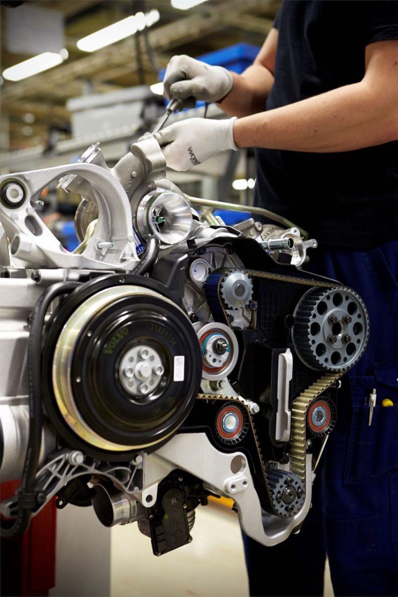 Volvo Verbrenner Herstellung in Skövde