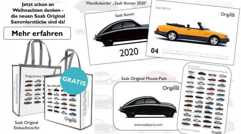 Orio Saab merchandising