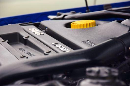 O design do motor da Saab tem sua própria estética