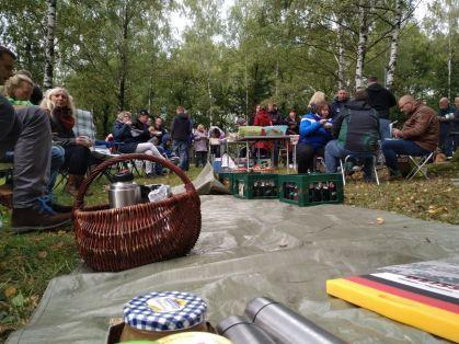 Ein saabiges Picknick