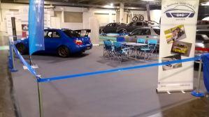 Subaru Impreza Sti Spec-C im Hintergrund