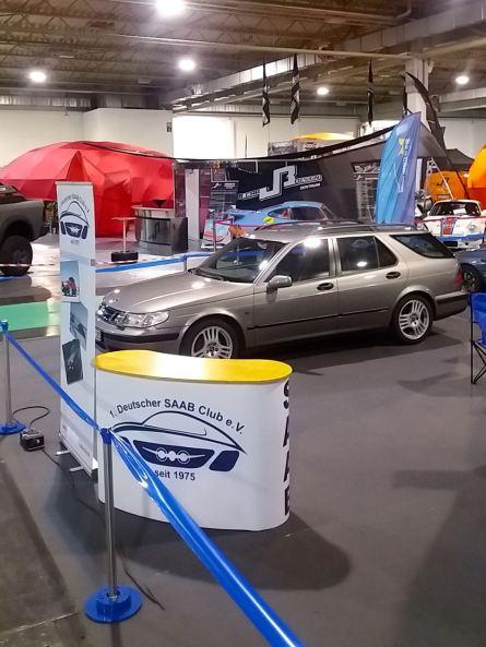 1. Il Saab Club tedesco mostra la presenza