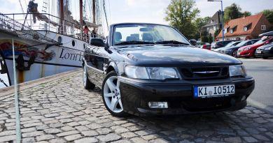 390.240 كيلومترات في Saab 9-3 Aero Cabriolet