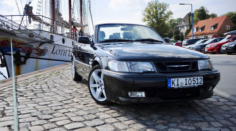 Saab 9-3 Aero Cabriolet with almost 400.000 kilometers
