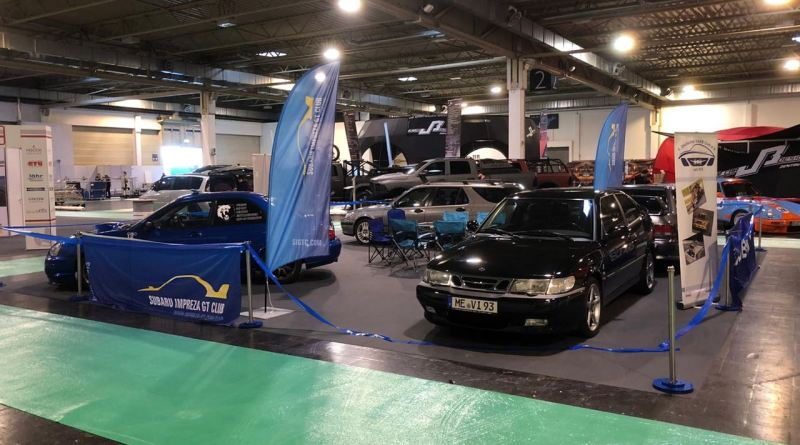 Saab - Subaru at the Essen Motor Show