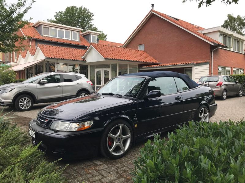 Mi Saab convertible