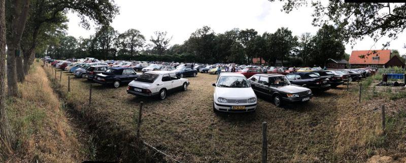 Der (Kuh-)Parkplatz voll