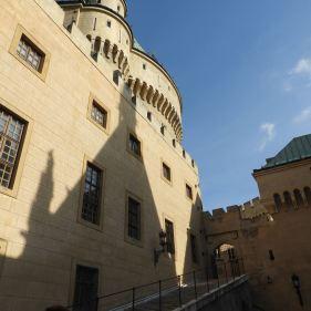 Der Hof vonSchloss Bojnice