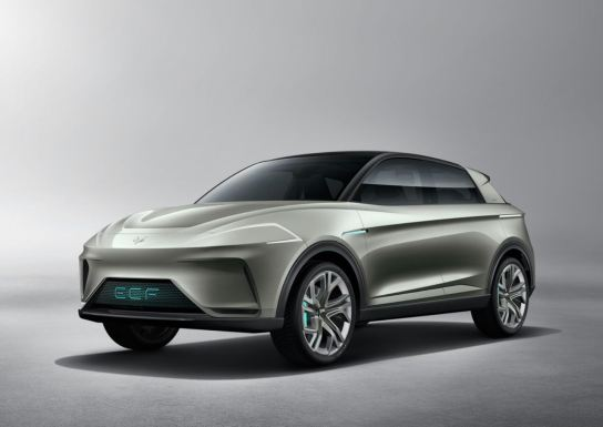 Arcfox launches the first electric car in 2020. The company is a joint venture between BAIC and Magna.
