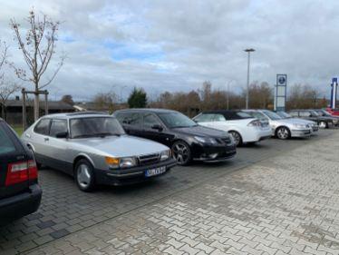 900 Turbo neben einem Turbo X und Cabriolet